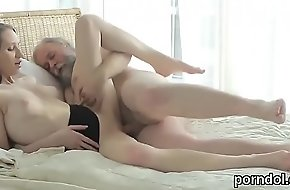 Cuddly schoolgirl is seduced and drilled prominence exotic say no to elder statesman mentor