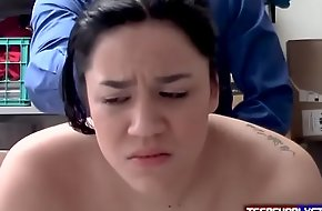 Shocked Teen Shoplyfter Learns The Hard In the same manner
