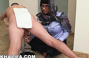 MIA KHALIFA - Your Favorite Arab Pornstar Milking Two Cocks Merely Be expeditious for Enjoyment