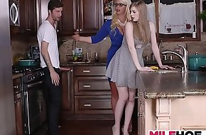 Stepdaughters Boyfriend Seduced Hard by Overprotect