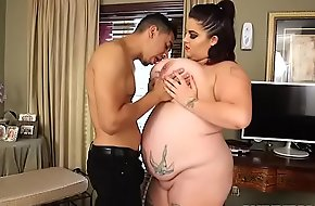 Busty BBW Babe Nathalia Springs Fucks Bruno