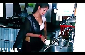 ANALANINE-Hot indian damsel makes a difficulty fixture liberally