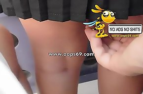 Upskirt with an increment of latex / best latex clips