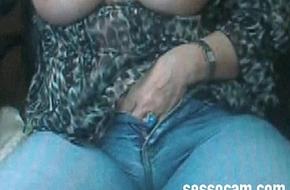 Mia boob matura tettona si tocca in webcam