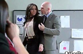 (stephani moretti) Dispirited Busty Office Girl Bang Hardcore Style video-30