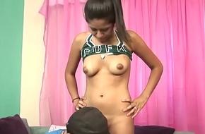Bitchy Latina Stepdaughter Roseate Rayes Fucks PE Cram